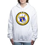 USS MICHIGAN Women's Hooded Sweatshirt