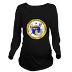 USS MICHIGAN Long Sleeve Maternity T-Shirt