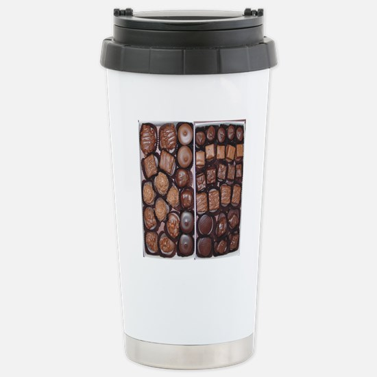 Chocolate Candy Flip Fl Stainless Steel Travel Mug