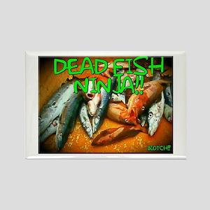 DEAD FISH NINJA!! Magnets