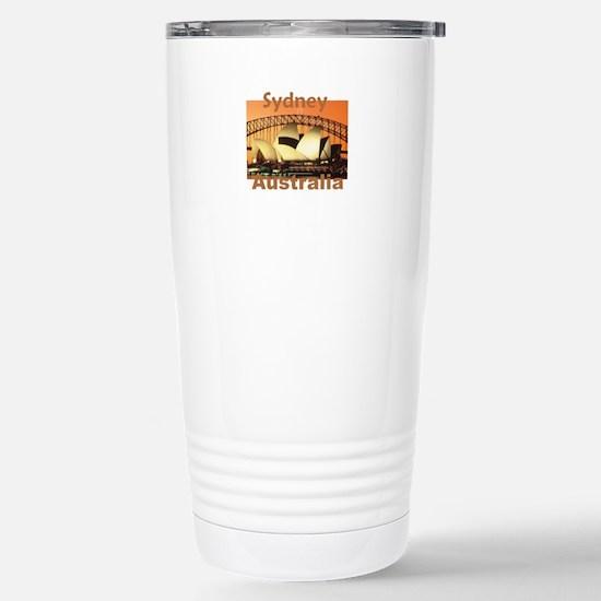 SYDNEY Stainless Steel Travel Mug
