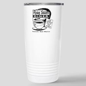 Flying Saucer Diner Stainless Steel Travel Mug