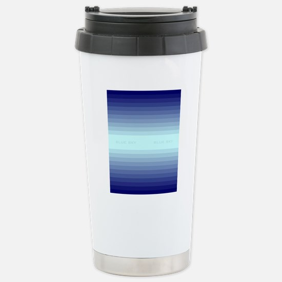 Blue sky fflop Stainless Steel Travel Mug