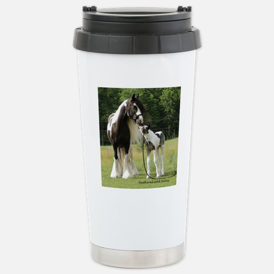 Dated with foal final Stainless Steel Travel Mug