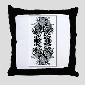 Neo Nouveau Throw Pillow