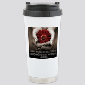 Great Affairs Quote on  Stainless Steel Travel Mug