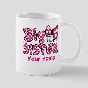 Custom Big Sister Ladybug Mug