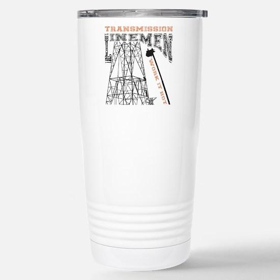 transmission tower Stainless Steel Travel Mug