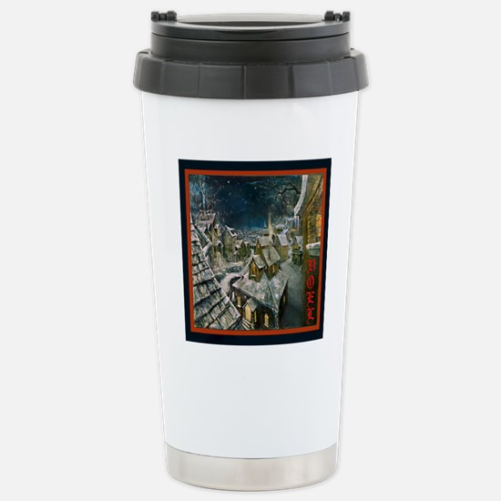 Fire and Ice Cafe Stainless Steel Travel Mug