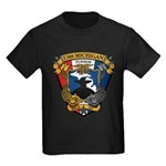 USS MICHIGAN Kids Dark T-Shirt