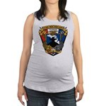 USS MICHIGAN Maternity Tank Top