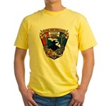 USS MICHIGAN Yellow T-Shirt