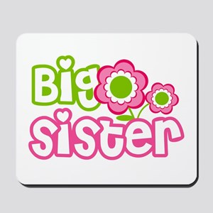 Big Sister Pink Green Mousepad