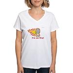 I'm on Fire! Women's V-Neck T-Shirt