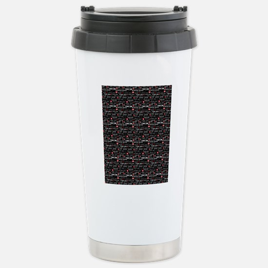 flipflops-5 Stainless Steel Travel Mug