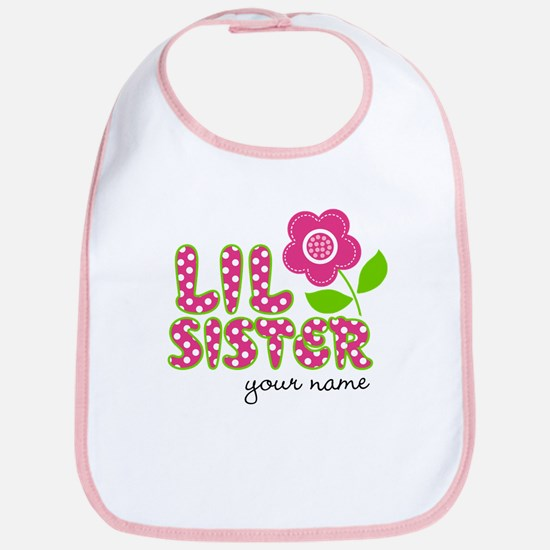 little sister Flower Bib