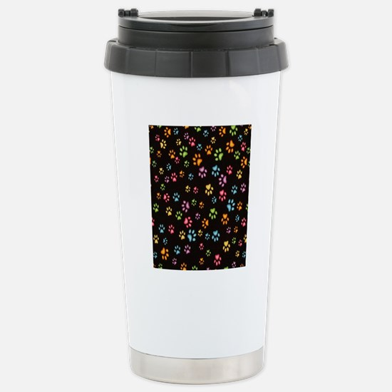 Catty Paws Stainless Steel Travel Mug