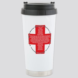 redcrossver2 Stainless Steel Travel Mug