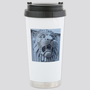 Leering Lion Stainless Steel Travel Mug