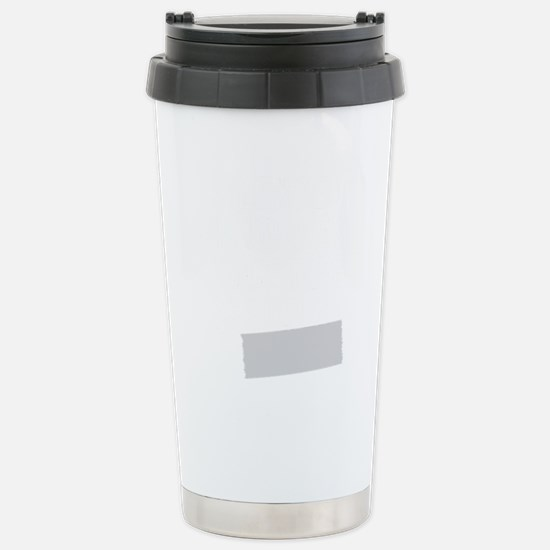 silence-is-golden-duct- Stainless Steel Travel Mug