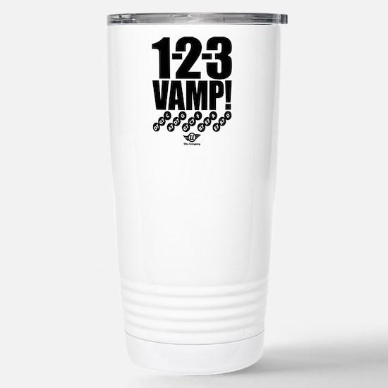 1-2-3 VAMP! Stainless Steel Travel Mug