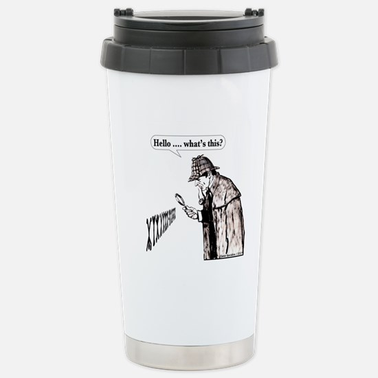 Hello whats this Stainless Steel Travel Mug