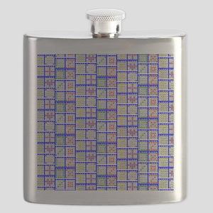 Bingo Game Patterns Offset Flask