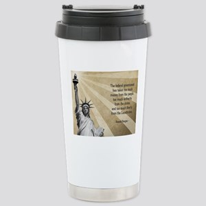 Ronald Reagan Quote Stainless Steel Travel Mug