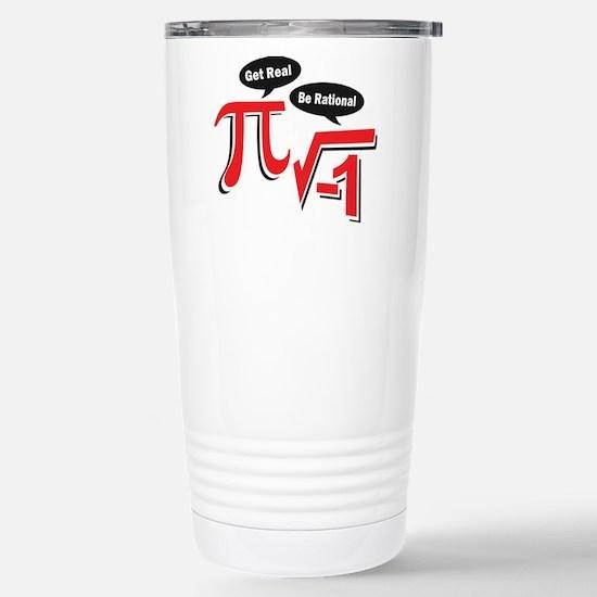 getrealberationalw Stainless Steel Travel Mug