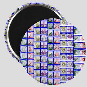 Bingo Game Patterns Offset 2 Magnet