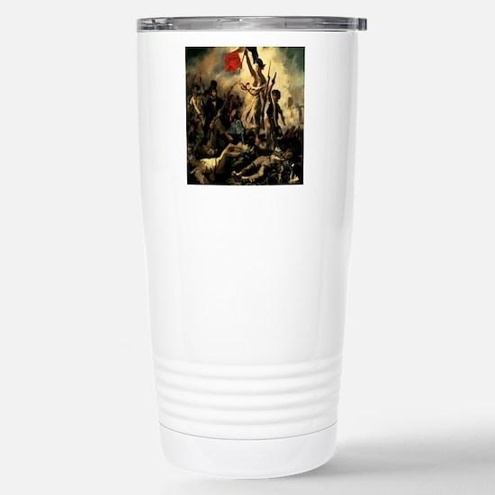 LibertyLeadingthePeople Stainless Steel Travel Mug