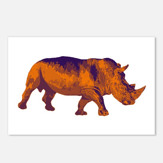 RHINO POISE Postcards (Package of 8)
