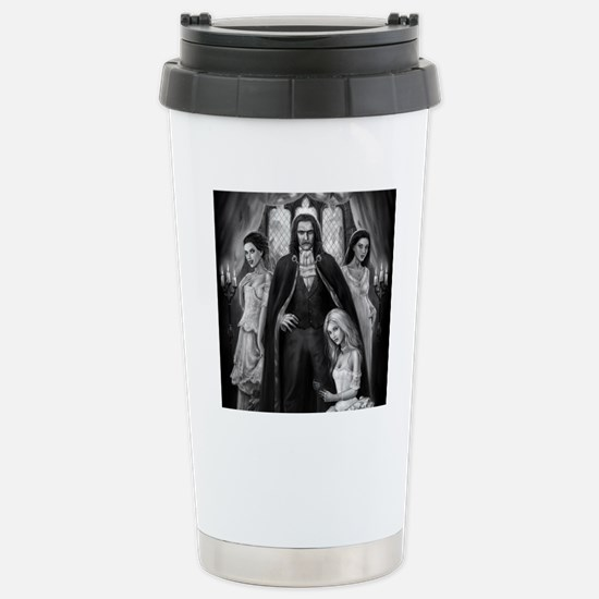 dracula and his ladies  Stainless Steel Travel Mug