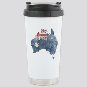 vintageAustralia7 Stainless Steel Travel Mug