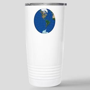 stereographic_america_1 Stainless Steel Travel Mug