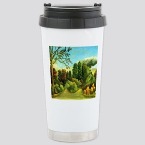 Henri Rousseau: View of Stainless Steel Travel Mug