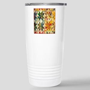 patchwk 11x11_pillow Stainless Steel Travel Mug