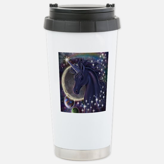Stellar_Unicorn_16x16 Stainless Steel Travel Mug
