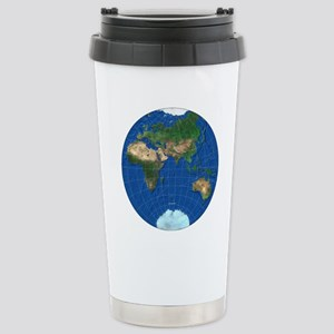 stereographic_asia_squa Stainless Steel Travel Mug