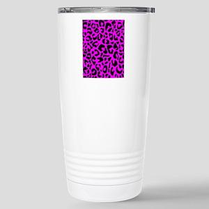 flipflopspinkleopard Stainless Steel Travel Mug