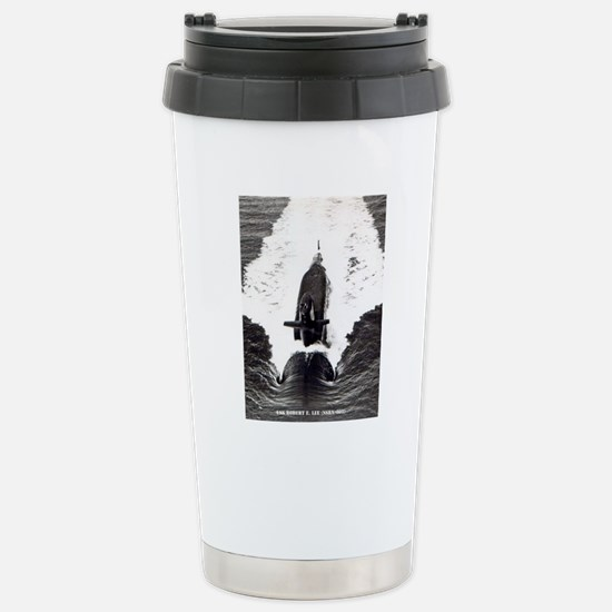 relee framed panel prin Stainless Steel Travel Mug