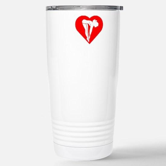 I-Heart-Diving-Darks Stainless Steel Travel Mug