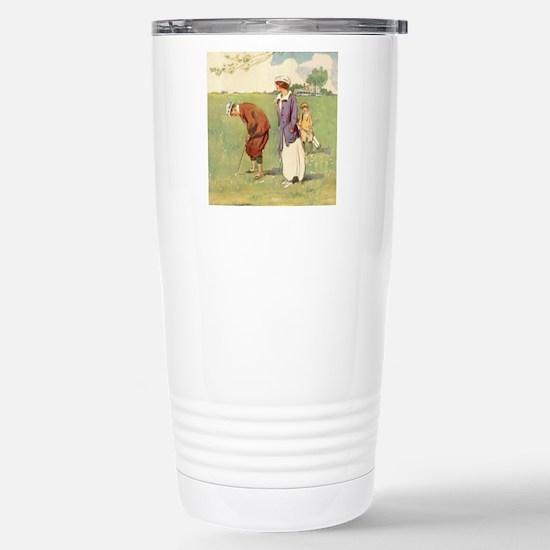 golfart7100 Stainless Steel Travel Mug