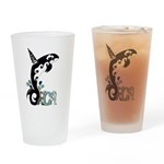 Orca Freedom Drinking Glass