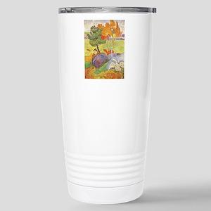 Rural France, Gauguin Stainless Steel Travel Mug