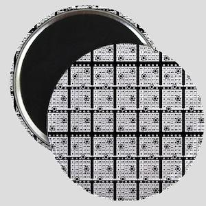 Black Bingo Paper Magnet