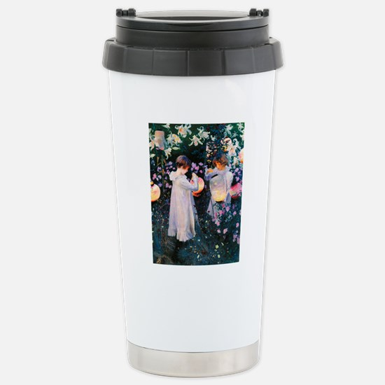 iPad Sargent Lily Stainless Steel Travel Mug