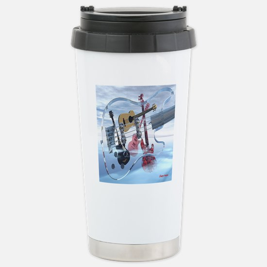 GlassBass Stainless Steel Travel Mug