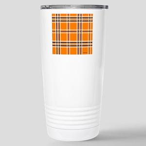 mousepadorangeplaid Stainless Steel Travel Mug