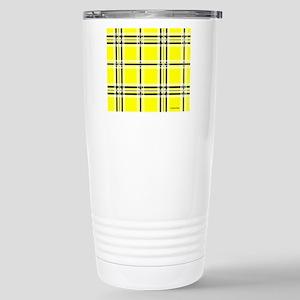 mousepadyeloplaid Stainless Steel Travel Mug